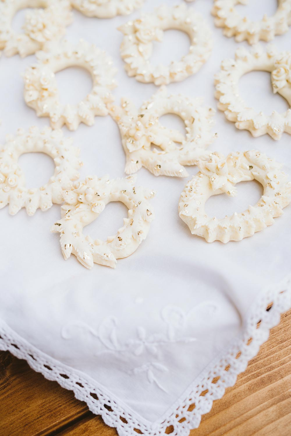 Sardinia wedding traditions handmade cookies