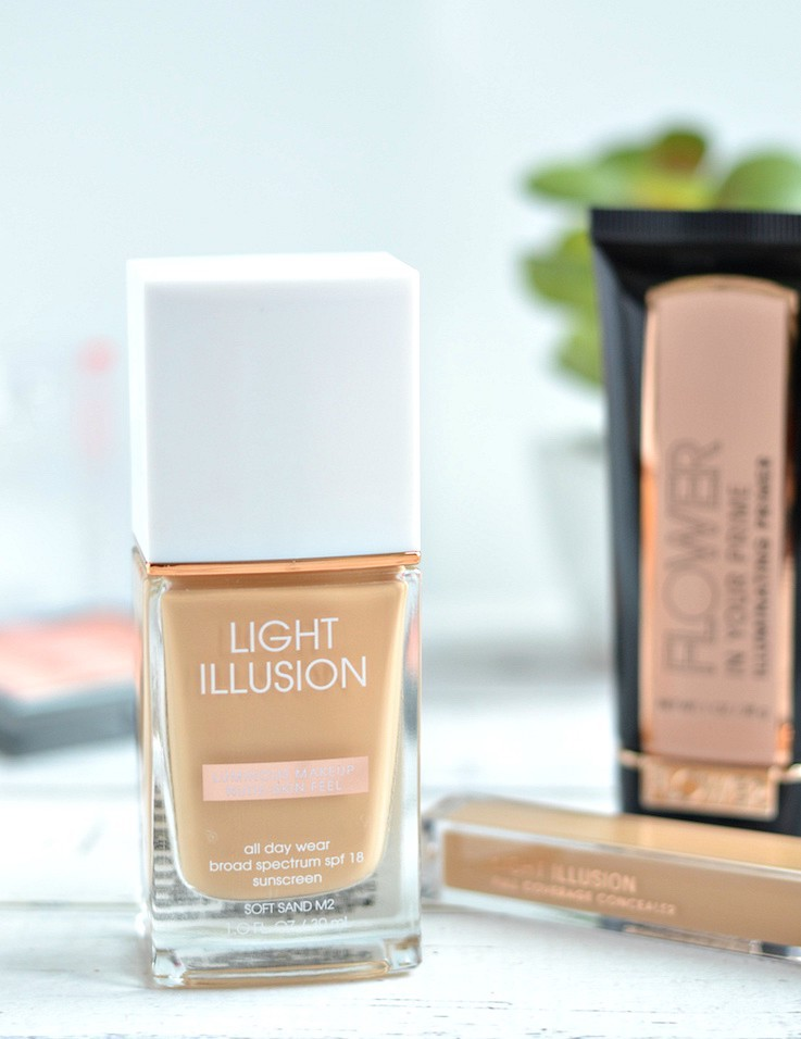 Flower Beauty Light Illusion Foundation and Full Coverage Concealer