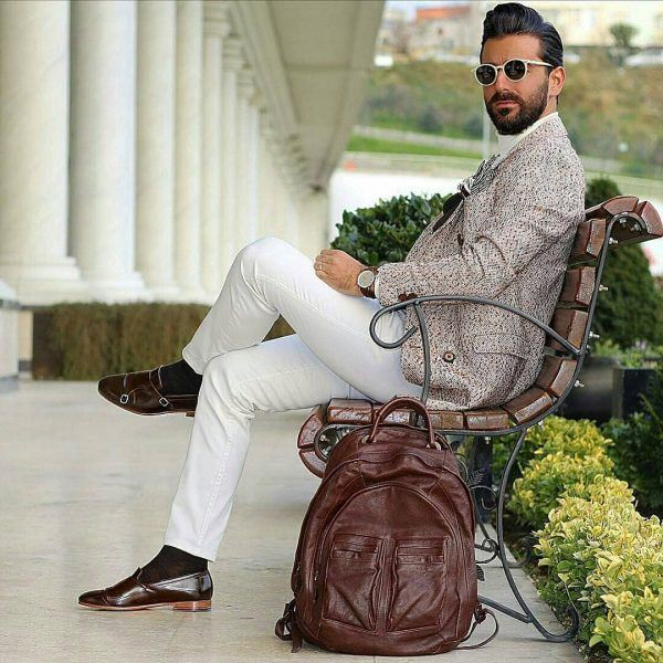 Matching-With-Your-Bag-600x600 Men's Business Casual Shoes Guide and 20 Tips for Perfect Look