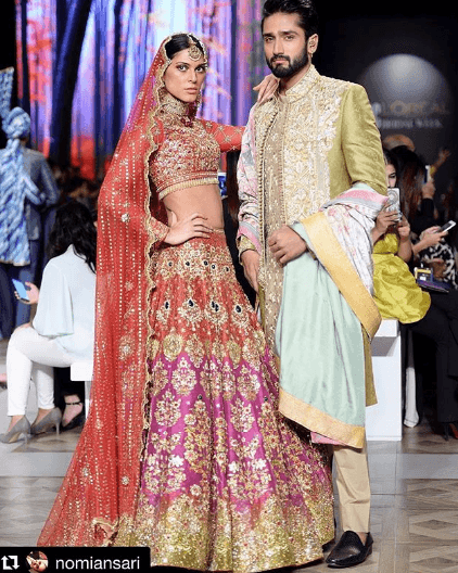 nomi-ansari-men-sherwani-designs 20 Latest Style Wedding Sherwani For Men and Styling Ideas