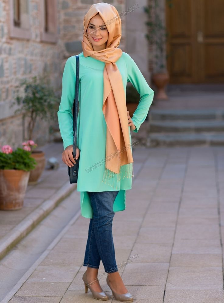 hijab-fashion-2015 30 Stylish Ways to Wear Hijab with Jeans for Chic look