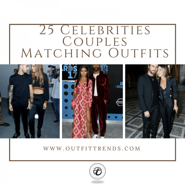 Add-heading-600x600 Celebrities Couples Matching Outfits–25 Couples Who Nailed It