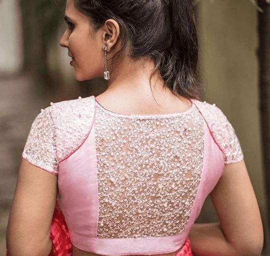 saree-blouse-designs- 30 New Saree Blouse Designs 2018 You Must Try