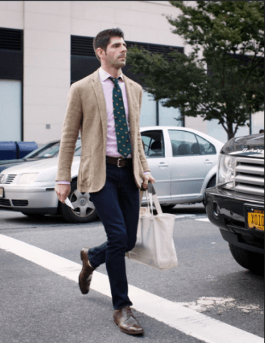 pink-business-casual-shirt-386x500 18 Best Tips and Business Casual Outfits For Men