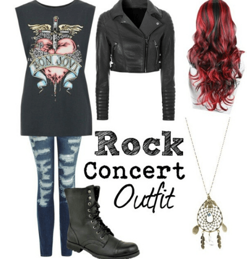 rock-concert-outfit-for-girls 25 Rock Concert Outfits Ideas For Women To Try