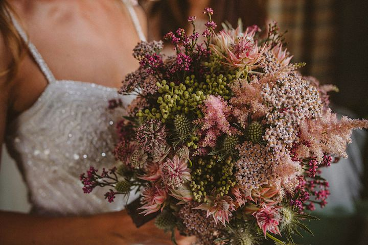 Look at this super textural bouquet - isn't it amazing