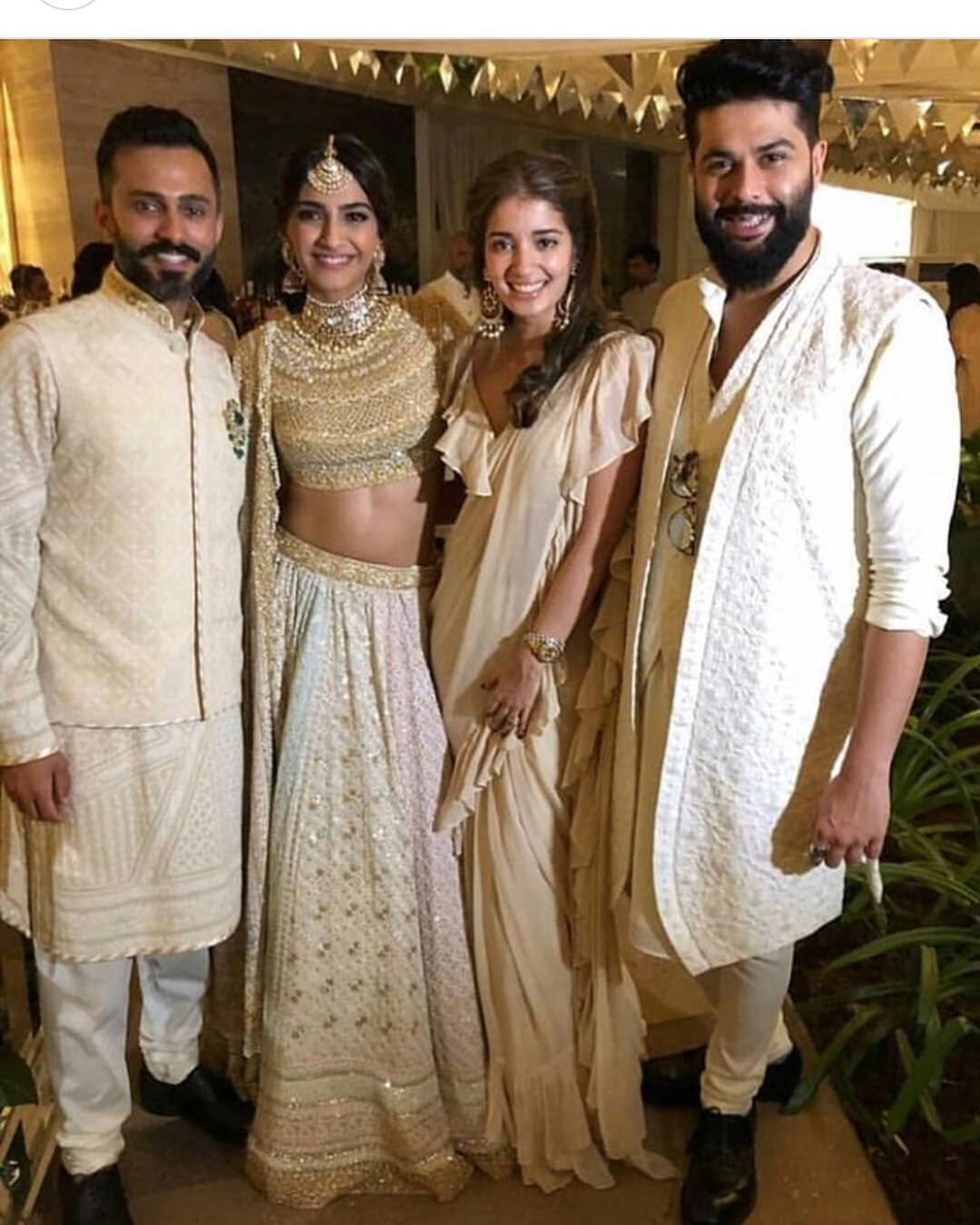 2-1 Sonam Kapoor Wedding Pics - Engagement and Complete Wedding Pictures