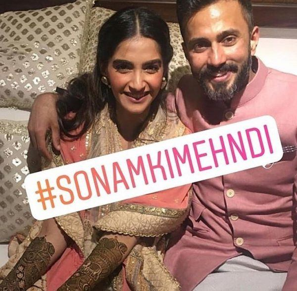 1-600x588 Sonam Kapoor Wedding Pics - Engagement and Complete Wedding Pictures