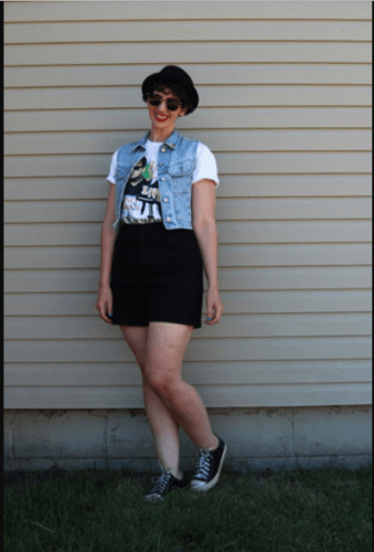 The-tomboy-look-339x500 25 Rock Concert Outfits Ideas For Women To Try
