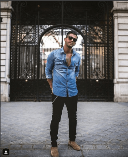 Lunchin-Weekend-Outfit-for-Men-trending-2018-409x500 Top 20 Weekend Outfits For Men Trending In 2018