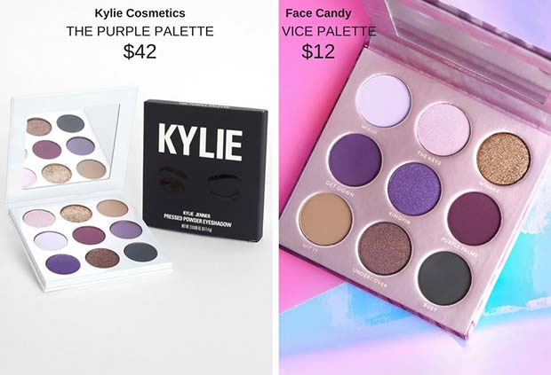 Kylie Cosmetics The Purple Palette Dupe