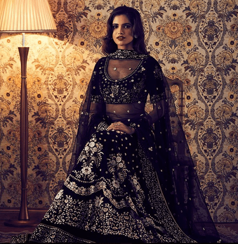 The-women-in-black-488x500 27 Latest Engagement Dresses for Women in India