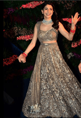 Outfit-with-Belt-345x500 27 Latest Engagement Dresses for Women in India