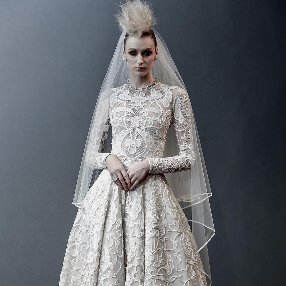 naeem khan spring 2019 bridal wedding inspirasi featured wedding gowns dresses and collection