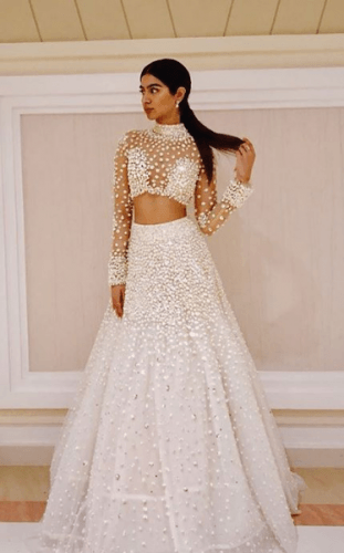 Play-of-beads-311x500 27 Latest Engagement Dresses for Women in India