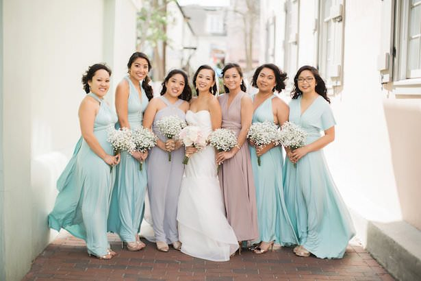 Glamour and Feminine Details for a Beautiful Pastel Wedding