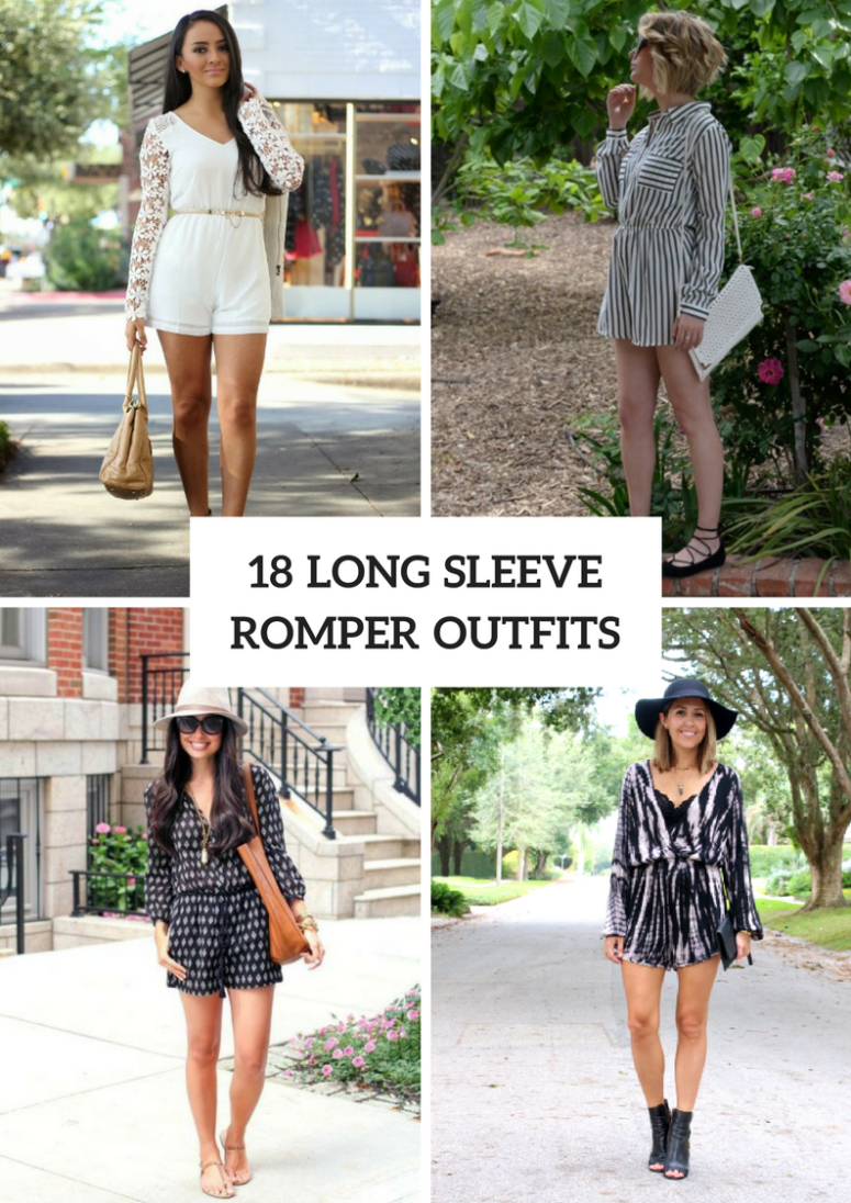 Attractive Outfits With Long Sleeve Rompers
