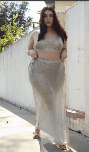 Bralette-with-Maxi-Skirt-293x500 20 Best Bralette Outfits for Plus Size Women to Try in 2018