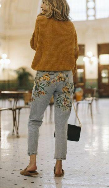 3-7 20 Best Outfits with Mustard Sweaters for Women in 2018