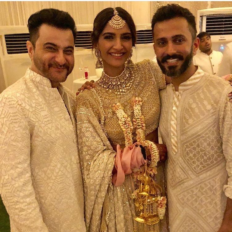 25 Sonam Kapoor Wedding Pics - Engagement and Complete Wedding Pictures