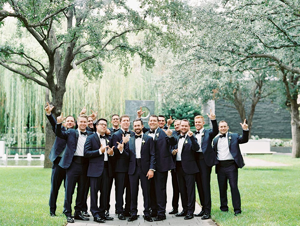 southern groomsmen party