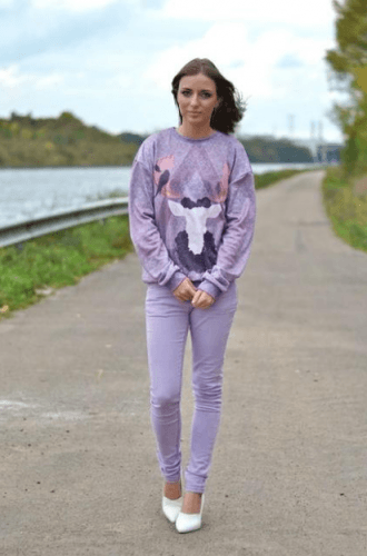 First-day-of-school-Outfit-330x500 35 Best Ways to Wear Lilac Outfits For Women