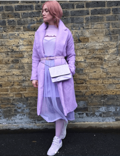 Winter-Outfit-1-387x500 35 Best Ways to Wear Lilac Outfits For Women