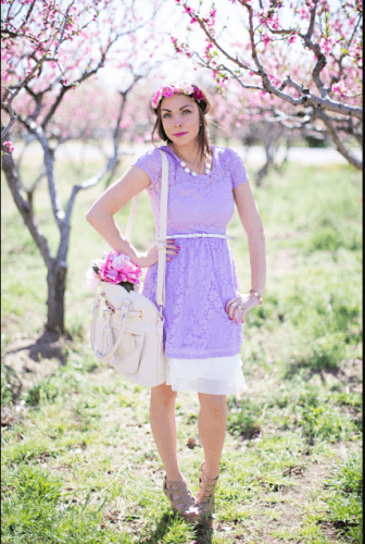 Easter-Outfit-1-336x500 35 Best Ways to Wear Lilac Outfits For Women