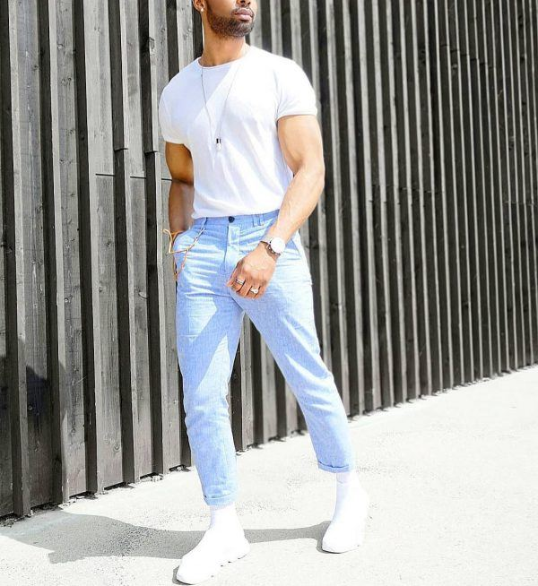 The-James-Dean-Daydream-Look-600x654 25 Outfits to Wear with White Sneakers for Men