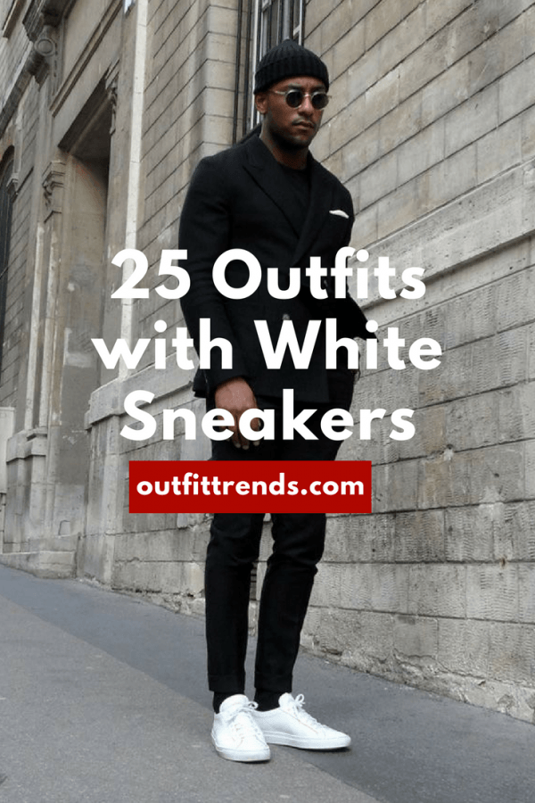 7a1e3fc0b2b1 sneakercollecting101-600x900 25 Outfits to Wear with White Sneakers for Men