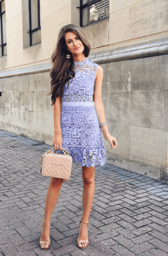 Bridal-Shower-Outfit-Idea-329x500 35 Best Ways to Wear Lilac Outfits For Women