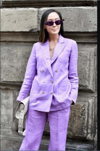 Dressing-up-for-Work-331x500 35 Best Ways to Wear Lilac Outfits For Women