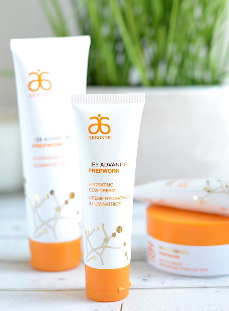 The NEW Arbonne RE9 Advanced Prepwork skincare line consists of 4 fun products formulated with superfood ingredients (hello, Kakadu plum!) to help your skin maintain a healthy glow while safeguarding it from environmental stressors that lead to early signs of aging.