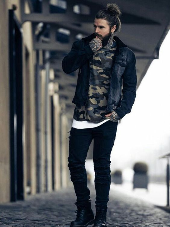 8-5 25 Best Rock Concert Outfits for Men in 2018
