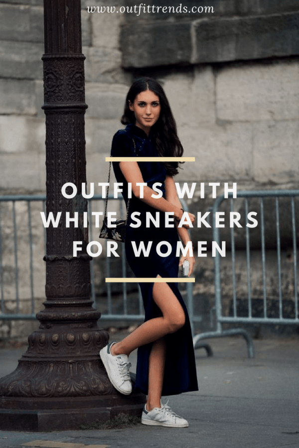 OUTFIT-IDEAS-WITHWHITE-SBEAKERS1-600x900 25 Outfits to Wear With White Sneakers for Women