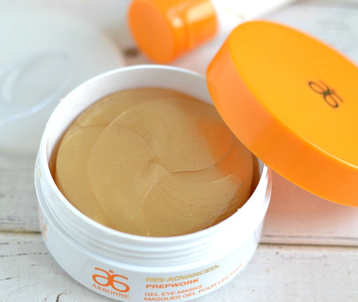 Arbonne RE9 Advanced Prepwork Gel Eye Masks