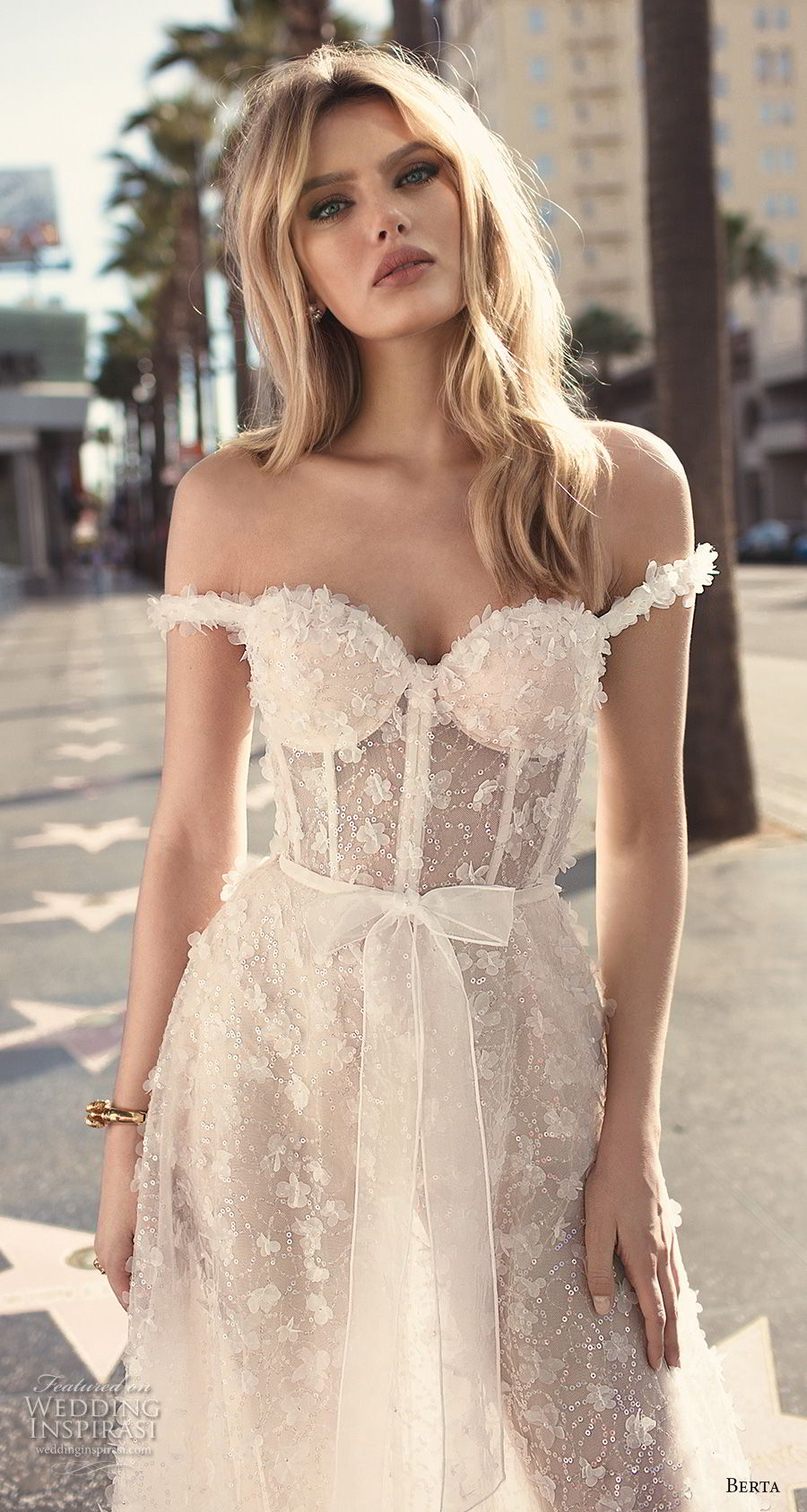 berta 2019 muse bridal off the shoulder sweetheart neckline full embellishment bustier romantic sexy soft a line wedding dress sweep train (2) zv