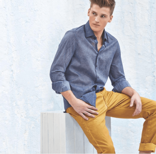 Off-Duty-Outfit Top 20 Men's Outfit with Mustard Pants To Wear in 2018
