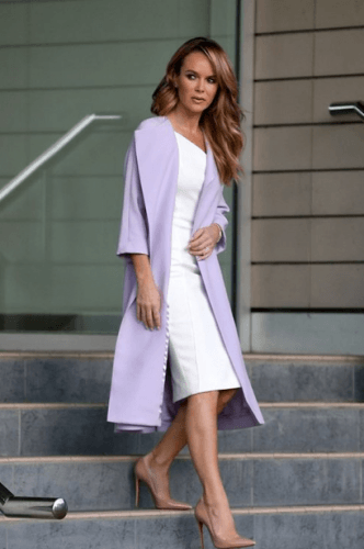 Celebrity-outfit-332x500 35 Best Ways to Wear Lilac Outfits For Women