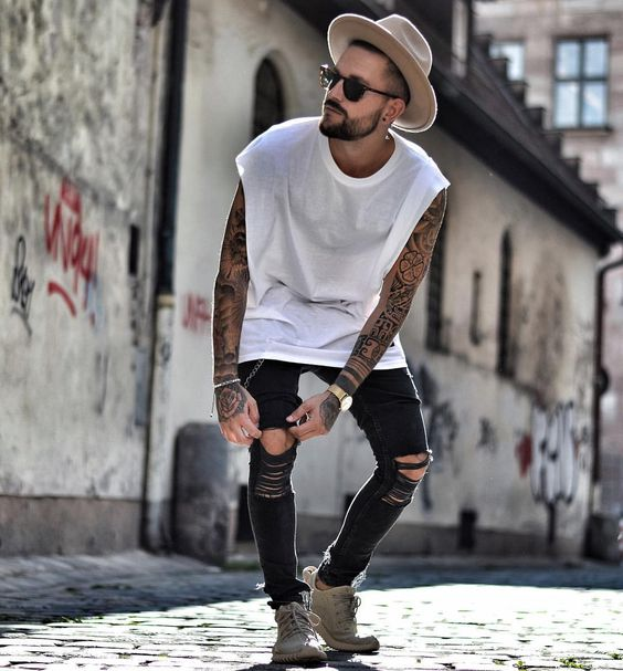 6-4 25 Best Rock Concert Outfits for Men in 2018