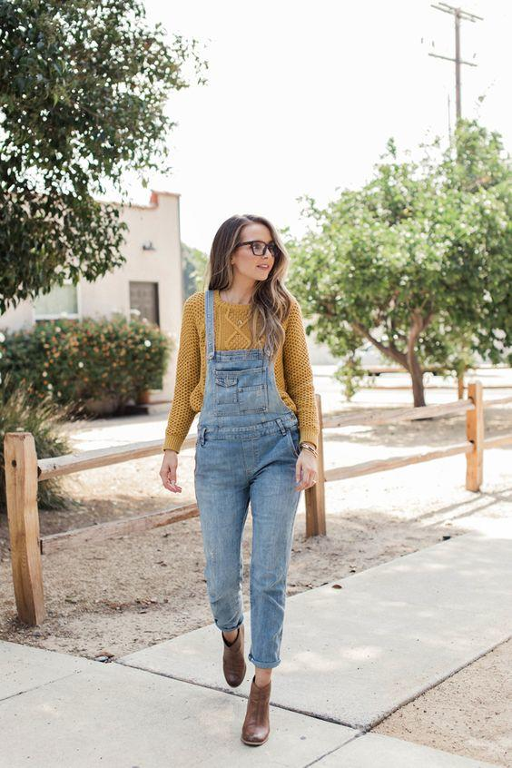 5-6 20 Best Outfits with Mustard Sweaters for Women in 2018