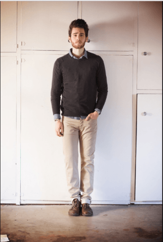 Keeping-it-smart-338x500 What to Wear for Bonfire Party? 18 Cute Bonfire Night Outfits for Men