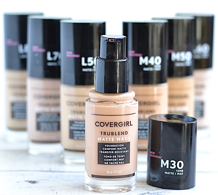 Covergirl TruBlend Matte Made Foundation Review and Swatches