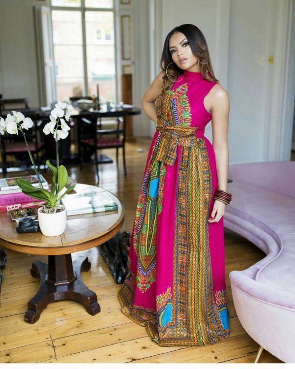 kitenge19-600x750 20 Best Kitenge Designs for Long Dresses 2018