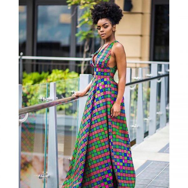 kitenge22-600x600 20 Best Kitenge Designs for Long Dresses 2018