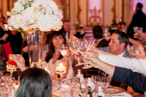 Wedding Reception Toast - Clane Gessel Photography