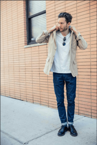 Date-night-outfit-336x500 What to Wear for Bonfire Party? 18 Cute Bonfire Night Outfits for Men