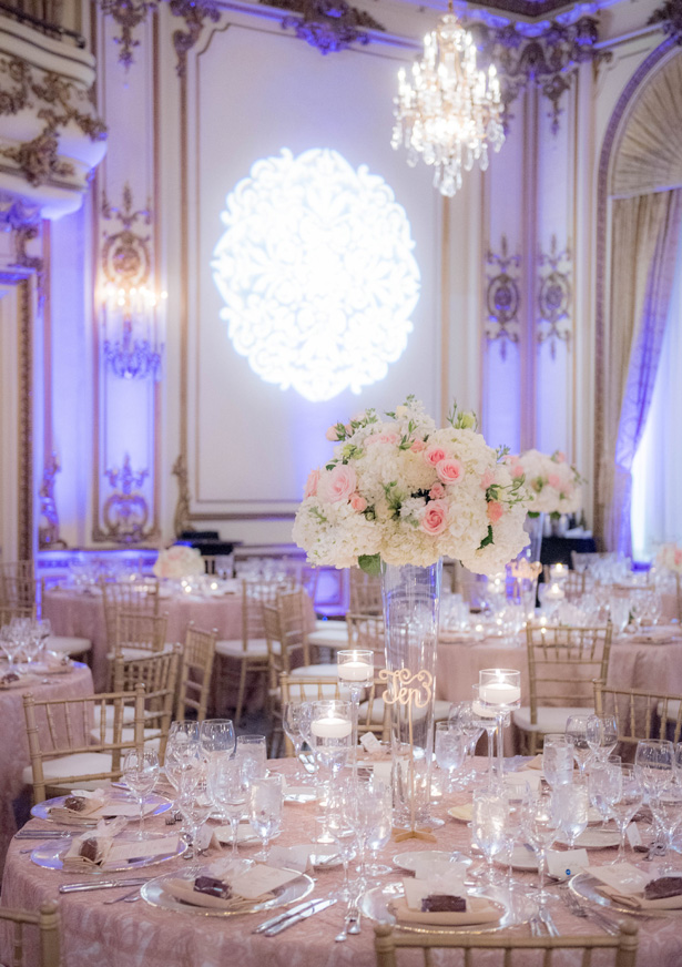 Classic Wedding Reception Decor - Clane Gessel Photography