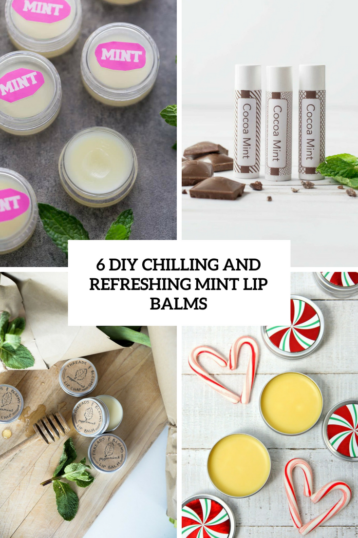 6 diy chilling and refreshing mint lip balms cover