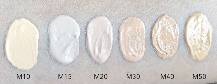 Covergirl TruBlend Matte Made Foundation Swatches
